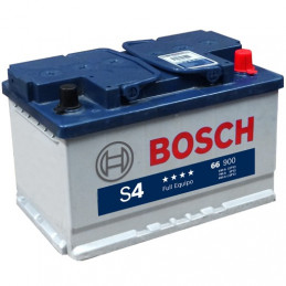 Bateria para Auto Bosch 66HP (S470D/S570D) de 13 Placas 70AH Con Tapas Polos + - RC 133min. CCA 660 L 277mm AN 174mm AL 175mm