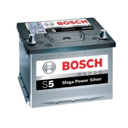 Bateria para Auto Bosch S562DH de 13 Placas 62AH Sellada Polos - + RC 95min. CCA 480 L 242mm AN 175mm AL 190mm