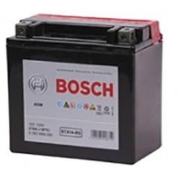 Bateria para Moto Bosch BTX14-BS de Placas 12AH Sellada AGM VRLA Polos RC min. CCA 210 L 150mm AN 87mm AL 145mm