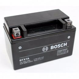 Bateria para Moto Bosch BTX7A-BS de Placas 6AH Sellada AGM VRLA Polos - + RC min. CCA 100 L 150mm AN 87mm AL 93mm