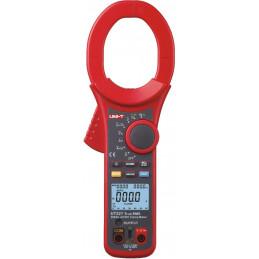 Pinza Amperimetrica Digital UNI-T UT-221, True RMS ACDC 750V 2000A Voltaje Corriente Resistencia Continuidad diodo