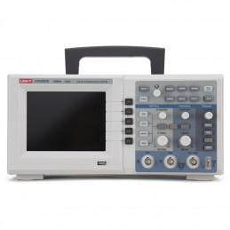 "Osciloscopio digital UNI-T UTD-2202CE 2 canales Bandwidth 200MHz, Sample Rate 1.9G, LCD 5.6"" TFT Color negro gris"