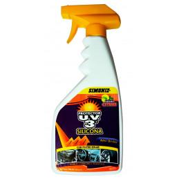 Silicona Protector UV3 Alto Brillo Citrus, 500ml, con filtro solar UV, 7702155130290 SIMONIZ