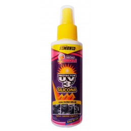 Silicona Protector UV3 Alto Brillo Chicle, 120ml, con filtro solar UV, 7702155000678 SIMONIZ