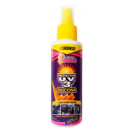 Silicona Protector UV3 Alto Brillo Chicle, 300ml, con filtro solar UV, 7702155000685 SIMONIZ