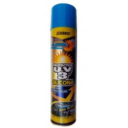 Silicona Protector UV3 Alto Brillo Floral, Aerosol 400ml, Con filtro UV, 7702155003129 SIMONIZ