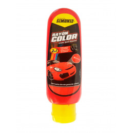 Crema Quita Rayon Color Rojo 120ml, 2 en 1 Cubre rayones y resalta el color, 7702155035885 SIMONIZ