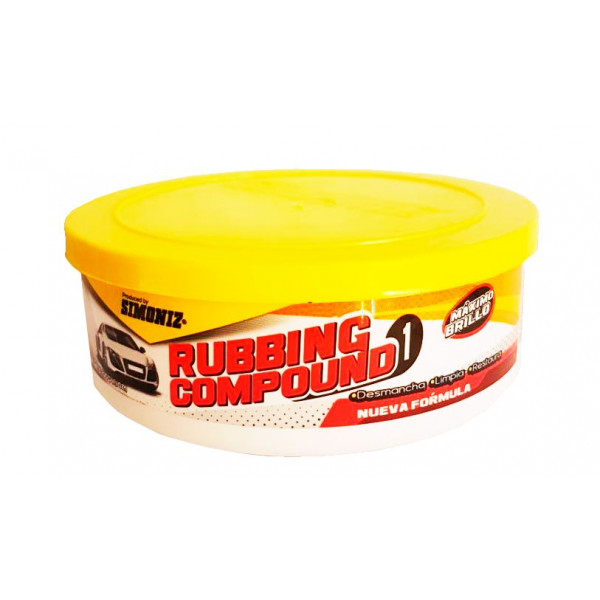 Pulidor en pasta Rubbing Compound 200gr, Pule Desmancha Limpia Restaura, 7702155037803 SIMONIZ