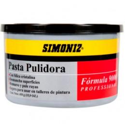 Pulidor Abrasivo en pasta Profesional Formula 9000 450gr, para pulir rayas de Lija 1000 y mas finas, 06373 SIMONIZ