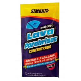 Lavaparabrisas Aditivo concentrado Aroma Chicle, Cojin 60ml, desengrasa y Limpia, Biodegradable, 7702155300112 SIMONIZ