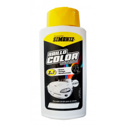Cera Liquida Brillo Color Blanco 500ml, 3 en 1 Encera Protege y Resalta el color, 77021554080