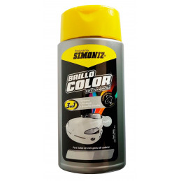 Cera Liquida Brillo Color Plata 300ml, 3 en 1 Encera Protege y Resalta el color, 7702155038183 SIMONIZ