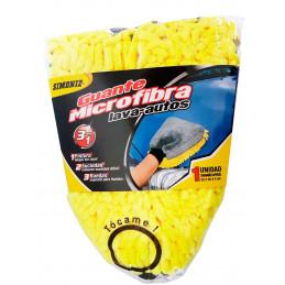 Guante Microfibra Lava Autos 3 en 1, protege, limpia y brilla, Limpia sin Rayar, Resistente y durable, 7703305131983 SIMONIZ