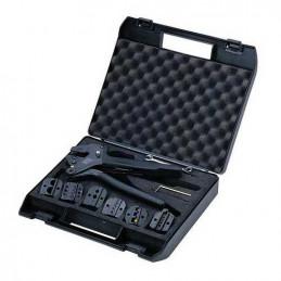 Kit de Herramientas Crimping 2528 con 6 Troqueles intercambiables para realizar todo tipo de Conector