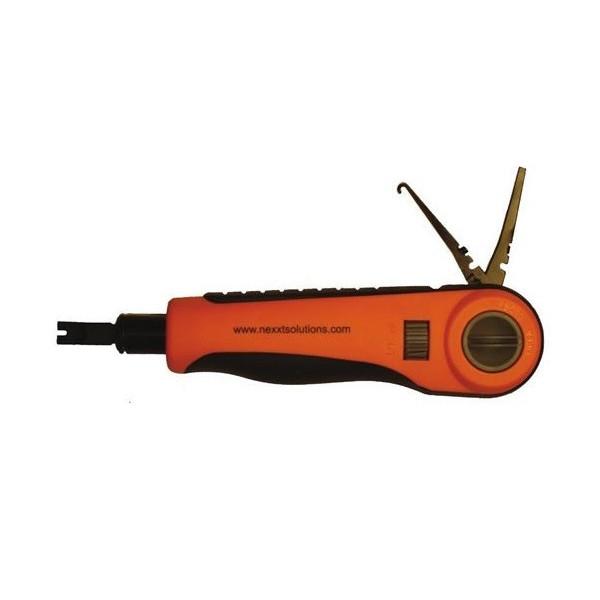 Herramienta de Impacto Nexxt Solution AW250NXT11, Punzador Blade 110/88 empalmes de Paneles y cajas