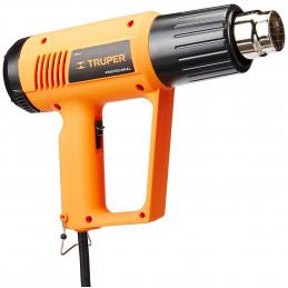 Pistola de Calor Profesional 1800W 11000 - 17000RPM Temperatura Variable 45 a 500 Grados, PISCA-A-2 15734 Truper