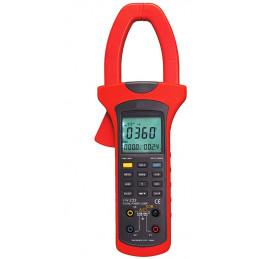 Pinza Vatimetrica Digital Prasek PR-233, AC600V 1000A Amperaje y Analizador de Potencia Active Apparent Reactive