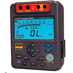 Megometro Digital Prasek Premium PR-512, Insulation Resistance 2500v DC 600V AC 600V Auto Rango