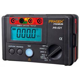 Telurometro Digital Prasek PR-521, Medidor de Resistencia de aislamiento 2000 OHM