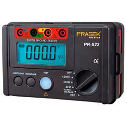 Telurometro Digital Prasek PR-522, Medidor de Resistencia de aislamiento 4000 OHM