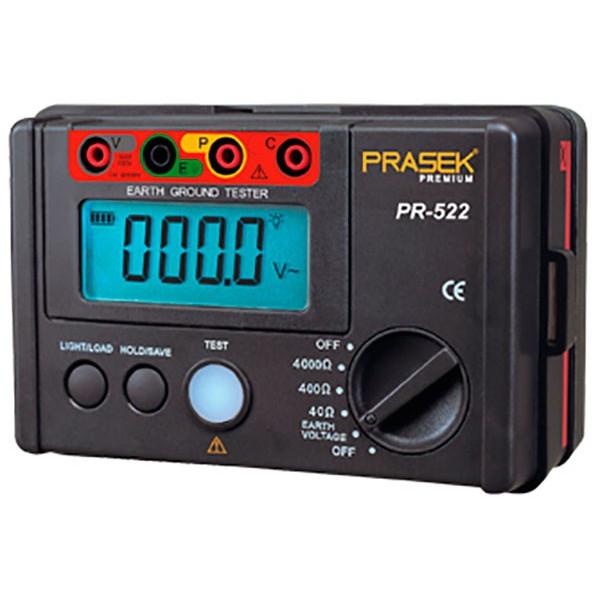 Telurometro Digital Prasek Premium PR-522, Medidor de Resistencia de aislamiento 4000 OHM