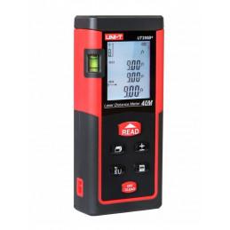 Medidor de Distancia Laser UNI-T UT393, 0.05 a 100 Metros, IP54 Bateria para 5000 Mediciones Calcula de Area Volumen