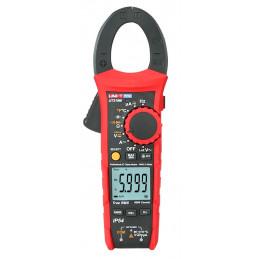 Pinza Amperimetrica Digital UNI-T UT-219M TRUE RMS, AC/DC 600V 600A Corriente Voltaje Resistencia Capacitancia Temp continuidad
