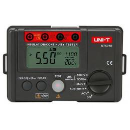 Megometro Digital UNI-T UT-501B, Insulation Resistance 1000V Voltaje AC600V Resistencia 200Ω