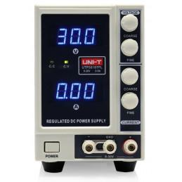 Fuente de alimetacion Digital UNI-T UTP-3315TFL, Corriente Continua DC 0-30V 5A 1 Canal de Salida Regulable