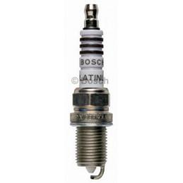 Bujia Bosch Platinum Plus 0242235556 FR7DP, 0 242 235 556, DR 14mm LR 19mm Luz 0.6mm, Toyota Nissan Daewoo Kia