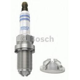 Bujia Bosch Platinum 4 0242235696 FGR7MQPE, 0 242 235 696, DR 14mm LR 26.5mm Luz 1.6mm, Renault
