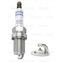 Bujia Bosch Doble Platinum 0242245558 FR5DPP22, 0 242 245 558, DR 14mm LR 19mm Luz 1.0mm, Mitsubishi Pajero 3 5 L