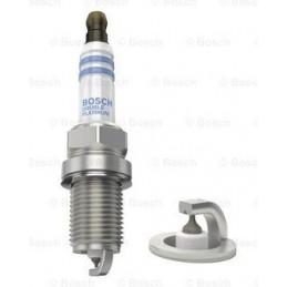Bujia Bosch Doble Platinum 0242236544 FR7KPP33U, 0 242 236 544, DR 14mm LR 19mm Luz 1.0mm, AUDI DAEWOO HONDA HYUNDAI KIA TOYOTA