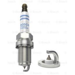 Bujia Bosch Doble Platinum 0242236511 FR7DPP332, 0 242 236 511, DR 14mm LR 19mm Luz 0.9mm, Honda MB