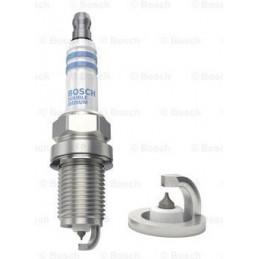 Bujia Bosch Doble Iridium 0242236599 FR7KII33X, 0 242 236 599, DR 14mm LR 19mm Luz 1.1mm, ACURA FORD M BENZ NISSAN SUZUKI VOLVO
