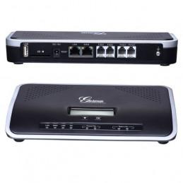 Central Telefonica IP - Grandstream UCM6202, 2FXO PSTN, 2FXS, 500 Usuarios, 30 llamadas concurrentes