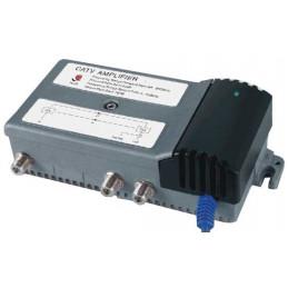 Amplificador de Interior para Señal CATV Cable y TDT 901G, 30dB Regulador de Ganancia Conecto RG6 F