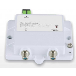 Transmisor Fibra Optica FTTH Micro Optical Transmitter 1013-3mW, CATV 1310nm 3mW Bajo Ruido Frecuencia 47-1000Mhz