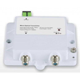 Transmisor Fibra Optica FTTH Micro Optical Transmitter 1015-3mW, CATV 1550nm 3mW Bajo Ruido Frecuencia 47-1000Mhz