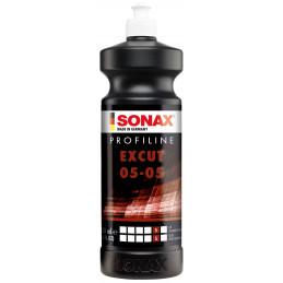 Pulidor en Pasta ProfiLine EXCUT 05P/05B 1 Litro, Fuerte Abrasion y Brillo Rapido, 245300 SONAX