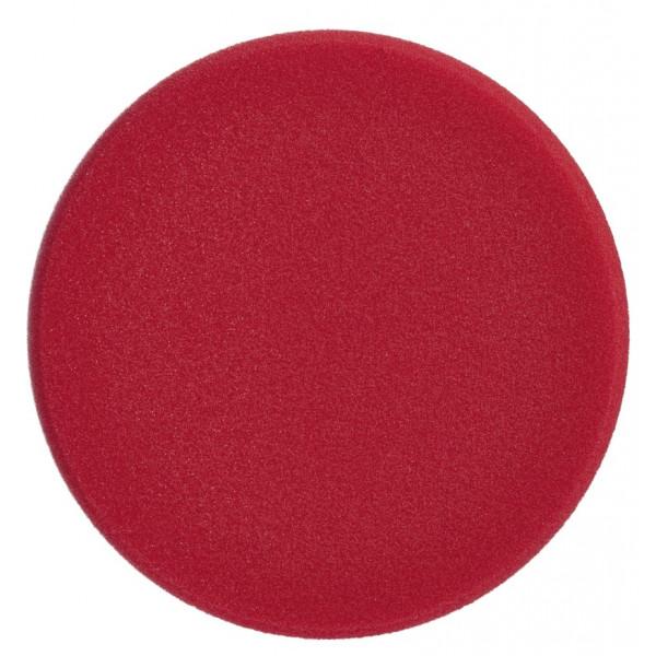 Disco de Pulido, Polishing Sponge yellow 200 mm Rojo (Duro), 7.8 Pulgadas, Uso con Maquina, 493741 SONAX