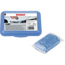 Masa Abrasiva 200g, Clay Lackpeeling blue, Elimina Suciedades tenaces de la pintura, 450205 SONAX