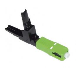 Conector Fibra Optica SC APC, Fast Connector Verde 10PCS Blister, MFC-SCAPC MIZU