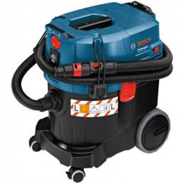 Aspiradora De Polvo Universal Bosch GAS 35 L SFC+, Humedo y Seco 1380W Flujo de Aire 53L Reservorio 35L