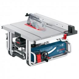 "Sierra de Banco Bosch GTS 10 J Professional, 10"" 254mm 1800W 3700RPM, Incluye Disco 40D Guia Auxiliar y adap de polvo, en CC"