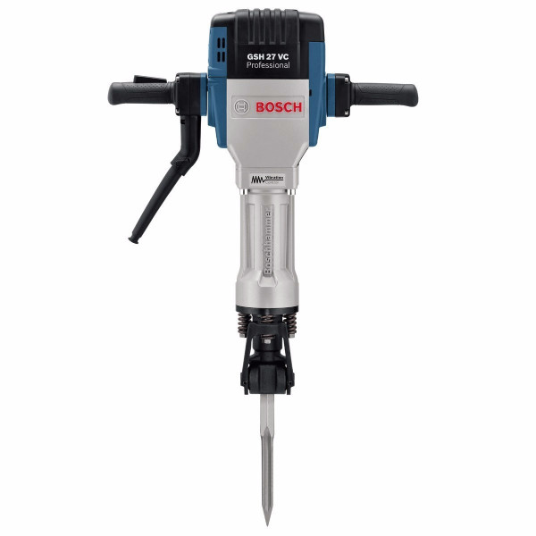 Martillo Demoledor Bosch GSH 27 VC Professional, 2000W 1000BPM 62J Encastre 28mm Rendimiento 10T/h, Carry + MP
