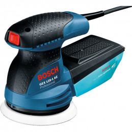 Lijadora Excentrica Bosch GEX 125-1 AE Professional, 250W Disco 125mm 24000OPM Velocidad variable