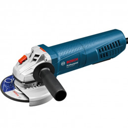 "Amoladora Angular Esmeril Bosch GWS 11-125 P Professional, 5"" 1100W 11500RPM M14 Ergonomica con Switch Protection"