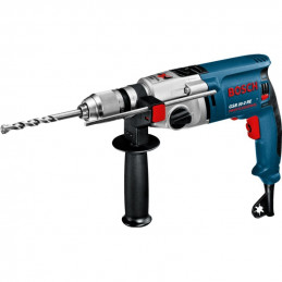 Taladro Percutor Bosch GSB 20-2 RE Professional, 800W 3000RPM M1/2 Soft Grip 2 Velocidades, MP