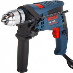 Taladro Percutor Bosch GSB 13 RE Professional, 650W 3000RPM M1/2 Soft Grip Velocidad Variable, MP